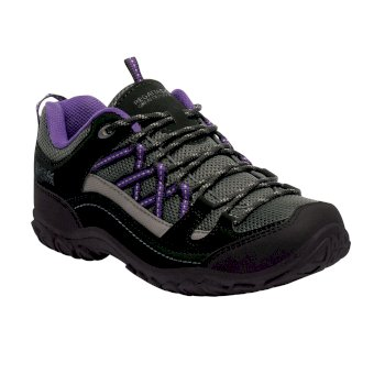 Women's Edgepoint II Walking Shoes Black Alpine Purple