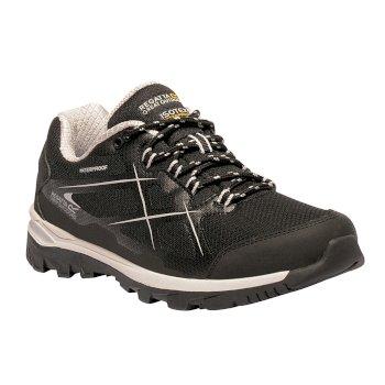Women's Kota Low Walking Shoes Black Rosebud