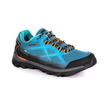 Women's Kota Low Walking Shoes Enamel Shock Orange
