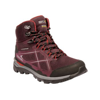 Women's Kota Mid Boots Fig Red Alert