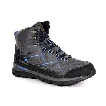 Women's Kota Mid Walking Boots Granite Blueberry Pie