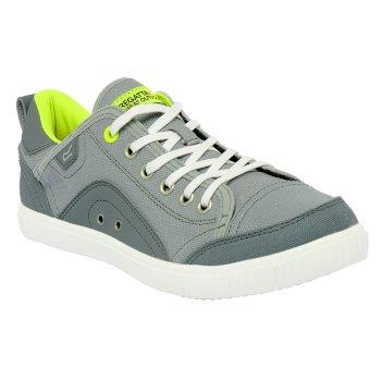 Women's Turnpike Shoe Silver  Neon