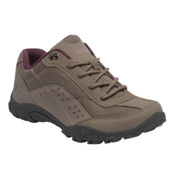 Women's Stonegate Walking Shoes Walnut Dusky Rose