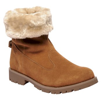 Women's Bedford Casual Boots Saddle Brown