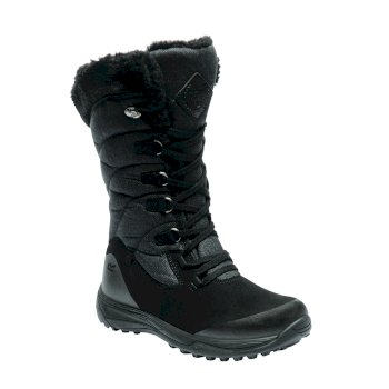 Women's Newley Casual Snow Boots Black