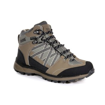 Women's Samaris II Waterproof Walking Boots Walnut Parchment