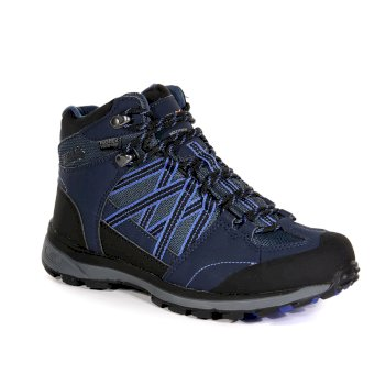 d5f6bd47d93 Women's Samaris II Mid Walking Boots Navy Azure Blue