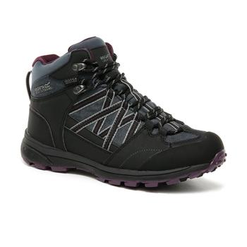 Women's Samaris II Waterproof Mid Walking Boots Seal Grey Prune