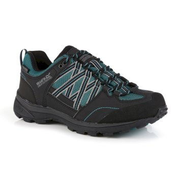 Women's Samaris II Low Walking Shoes Shoreline Blue Ash