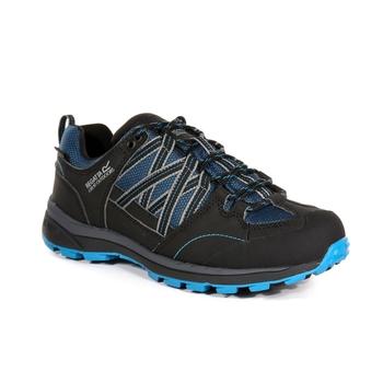 Women's Samaris II Low Walking Shoe Moroccon Blue Black