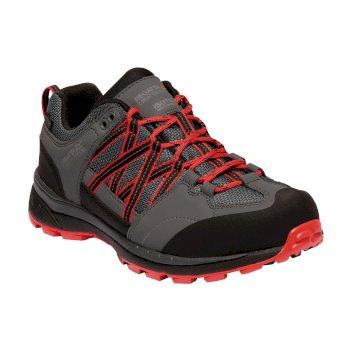 Lady Samaris Low II Shoes Dark Steel Red Alert