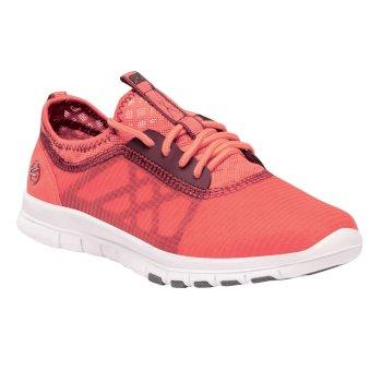 Women's Marine Sport Lightweight Shoes Neon Peach Black Cherry