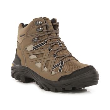 Women's Burrell II Hiking Boots Walnut Parchment