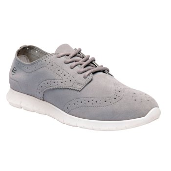 Women's Hennessey Lightweight Suede Shoes Silver Flash