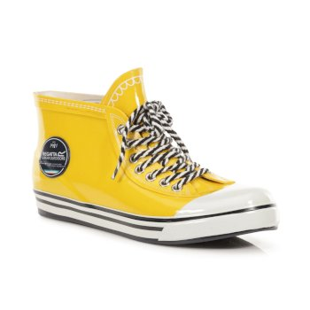 Women's Gala Ankle Height Wellingtons Lifeguard Yellow