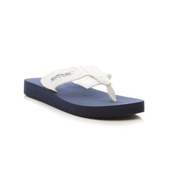 Women's Catarina Flip Flops Navy White