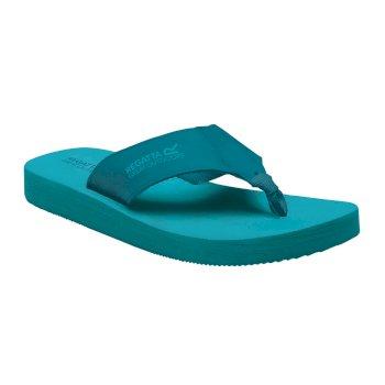 Women's Catarina Flip Flops Azure Enamel