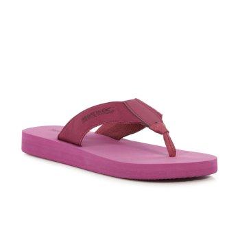Women's Catarina Flip Flops Red Violet Rose Blush