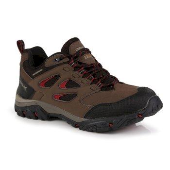 Brązowo-szare damskie niskie buty turytyczne Holcombe IEP