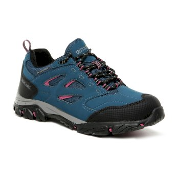Women's Holcombe IEP Low Walking Shoes Moroccan Blue Red Violet