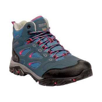 Women's Holcombe IEP Mid Walking Boots Moroccan Blue Duchess
