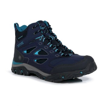 Women's Holcombe IEP Mid Walking Boots Navy Azure Blue