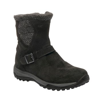 Women's Argyle Boots Black