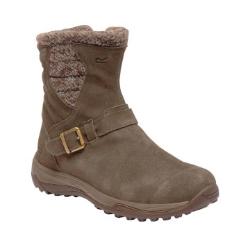 Women's Argyle Boots Aztec Brown