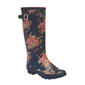 Women's Fairweather II Wellingtons Navy Floral