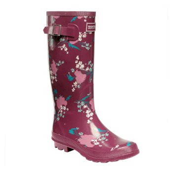 Women's Fairweather II Wellingtons Beaujolais Floral