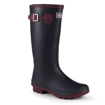 Women's Fairweather II Wellingtons Iron Prune
