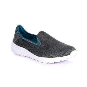 Women's Marine Slip-On Shoes Grey Marl Enamel