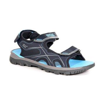 Women's Kota Drift Sandals Navy Washed Azure