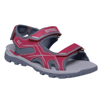 Women's Kota Drift Sandals Dark Cerise Oynx