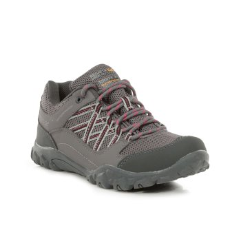 Women's Edgepoint III Waterproof Walking Shoes Granite Duchess