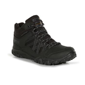 Women's Edgepoint Waterproof Mid Walking Boots Ash Granite