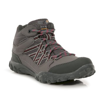 Women's Edgepoint Waterproof Walking Boots Granite Duchess