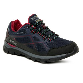 Women's Kota II Low Walking Shoes Navy Beetroot