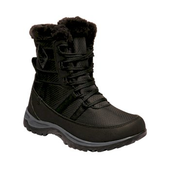 Women's Waverley Quilted Boots Black