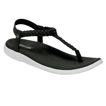 Damskie sandały Santa Luna czarne