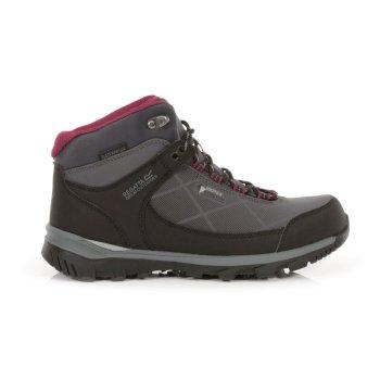 Damskie buty trekkingowe Highton STR Mid szare