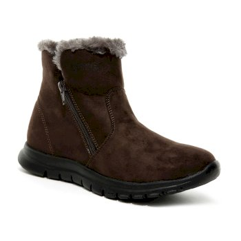 Women's Verena Fleece Lined Casual Boots Brown
