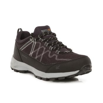 Women's Samaris Lite Waterproof Low Walking Shoes Iron Light Steel