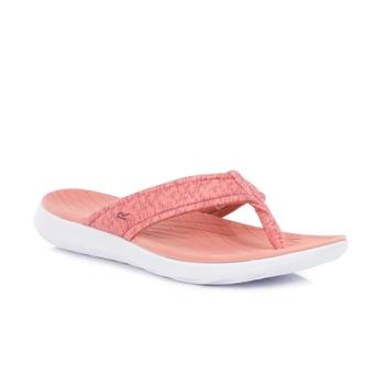 Women's Belle Lightweight Toe Post Sandals Deep Blush