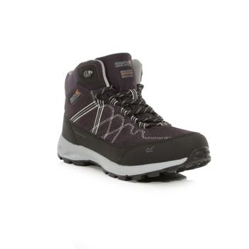 Women's Samaris Lite Waterproof Mid Walking Boots Iron Light Steel