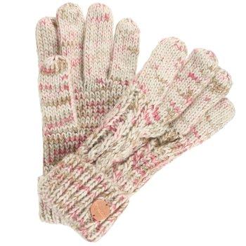 Women's Frosty II Knit Gloves LightVanilla
