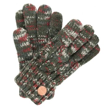 Women's Frosty II Knit Gloves Dark Khaki