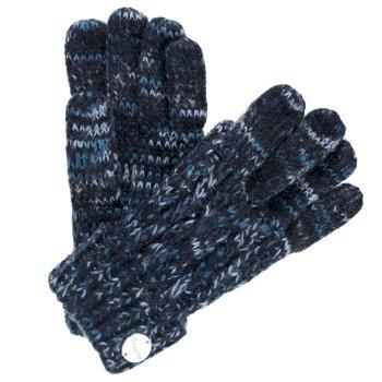 Women's Frosty II Knit Gloves Navy