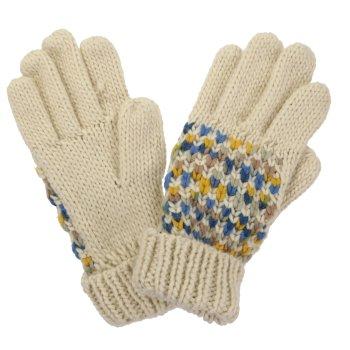 Women's Frosty III Knitted Gloves Light Vanilla