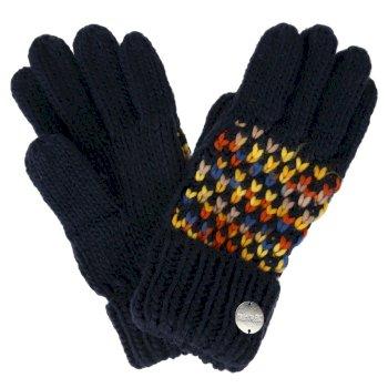 Women's Frosty III Knitted Gloves Navy